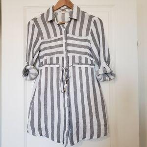 Macy's striped dress. Size S